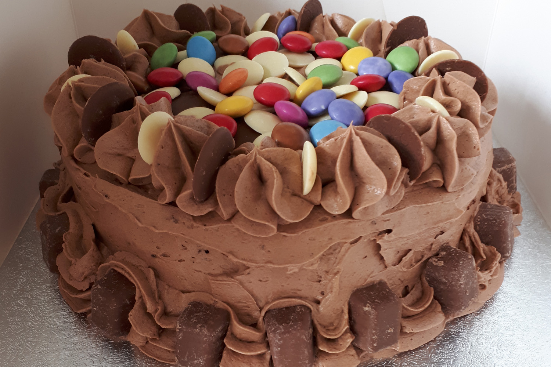 Smarty Pants Chocolate Cake