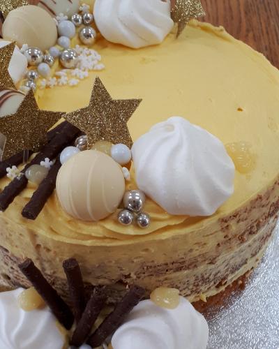 semi-naked birthday cake