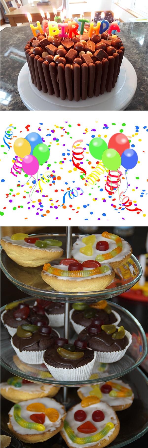 Cake decorating and Playdates