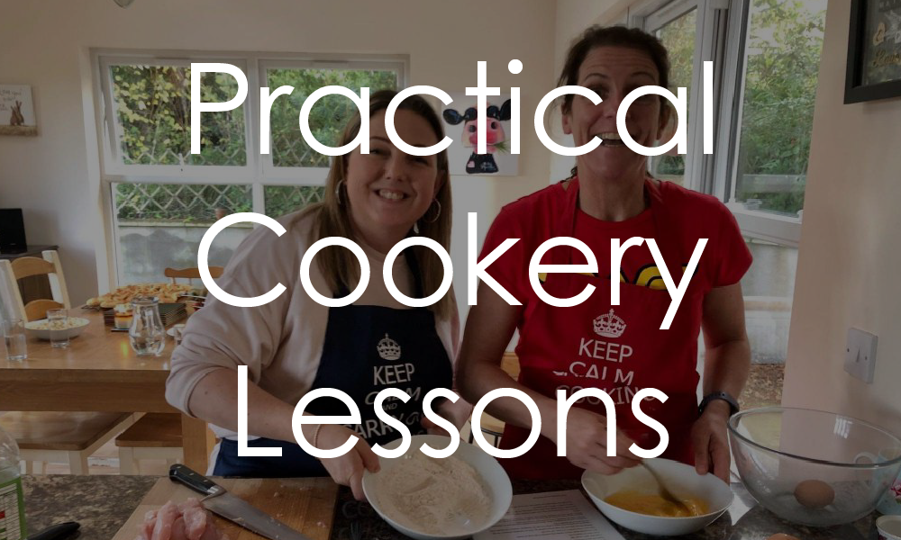 practical cookery lessons